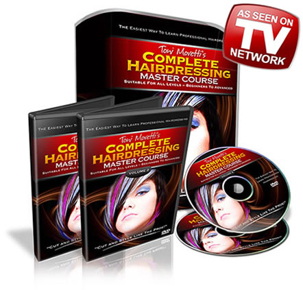 Hairdressing courses dvd
