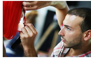 learn how to cut mens hair academy